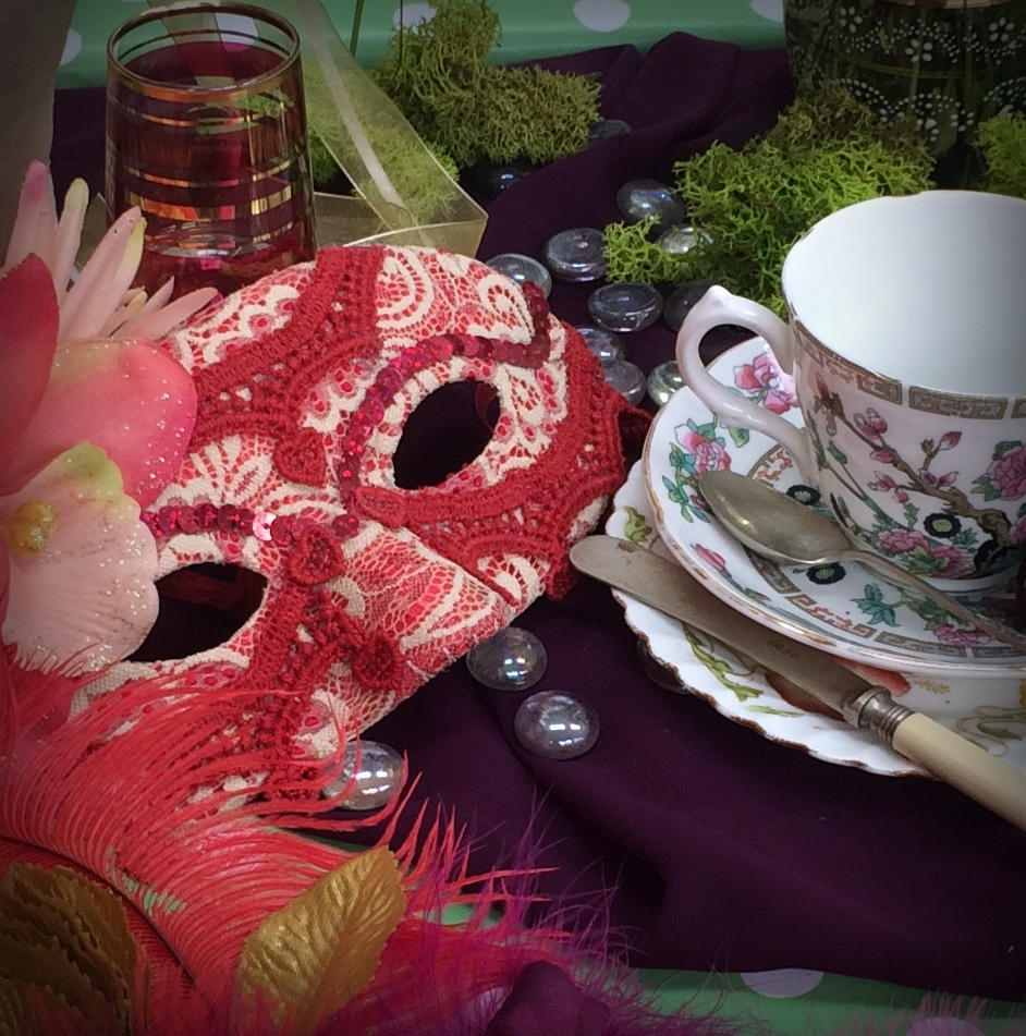 Curious Hen party venue - tea and mask.jpg