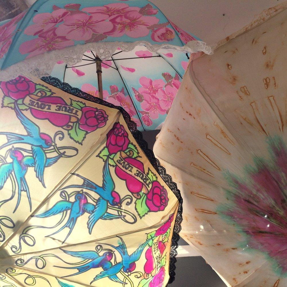 Silk painted parasols - JAK.jpg