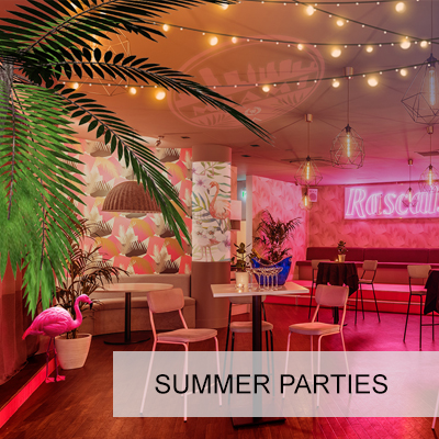 MIAMI BEACH CLUB SUMMER PARTY Standing Summer Parties for up to 250 guests