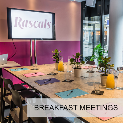 Breakfast Meetings 8 to 20 guests