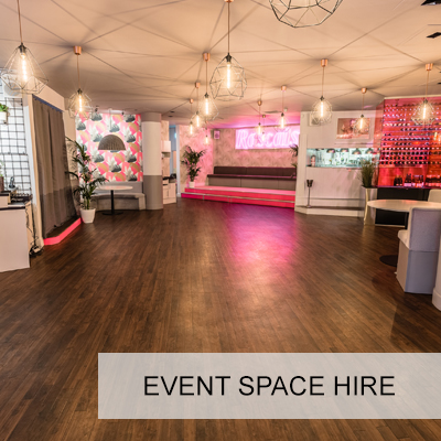 Dry Hire Venue available for Product Launches and Event Pop Ups