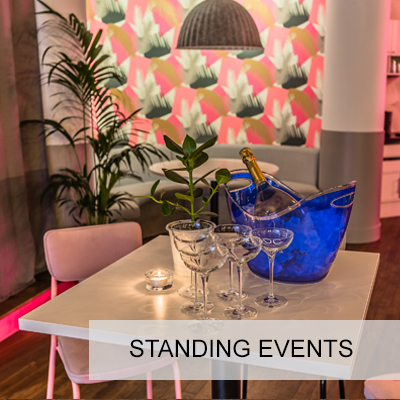 Drinks receptions and networking events for up to 250 guests