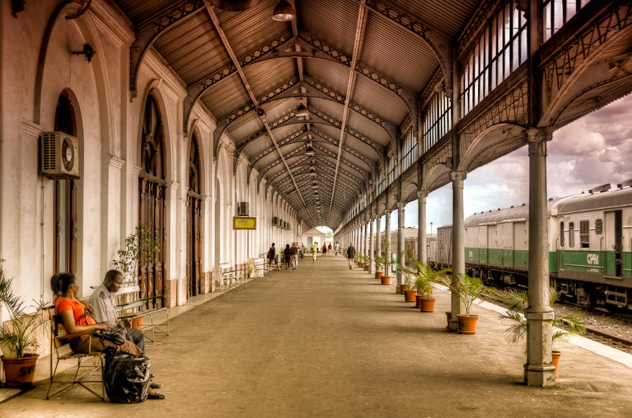 Maputo Railway Station, Mozambique