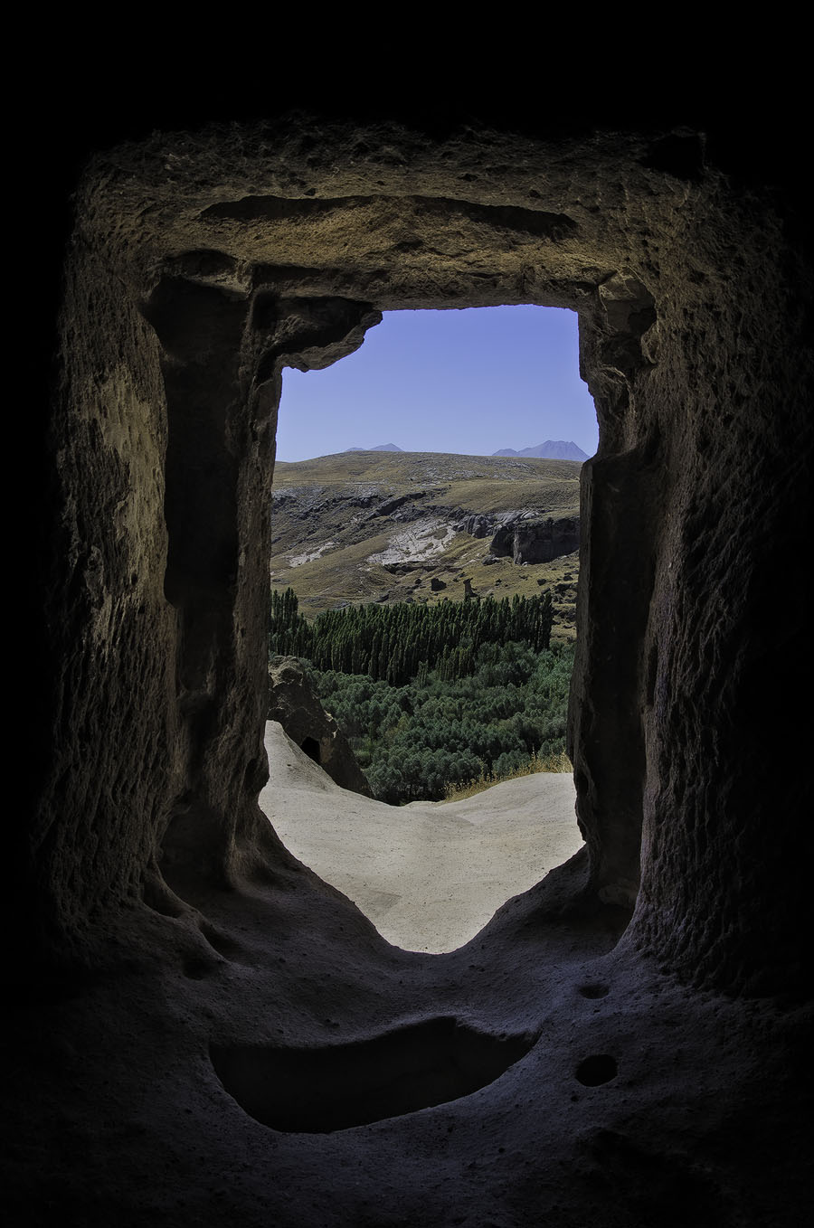 View from a cave house in Cappadocia
