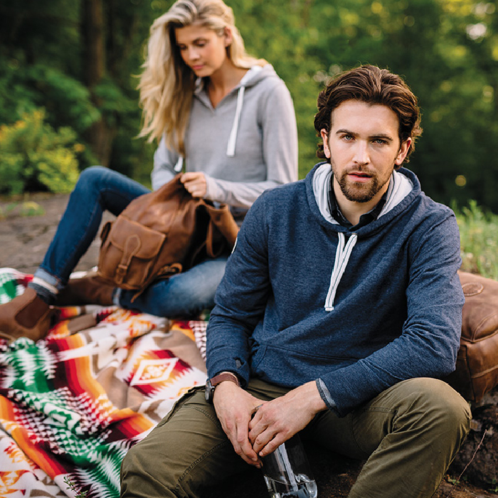 Outerwear and apparel from brands such as Roots, Puma, and High Sierra.
