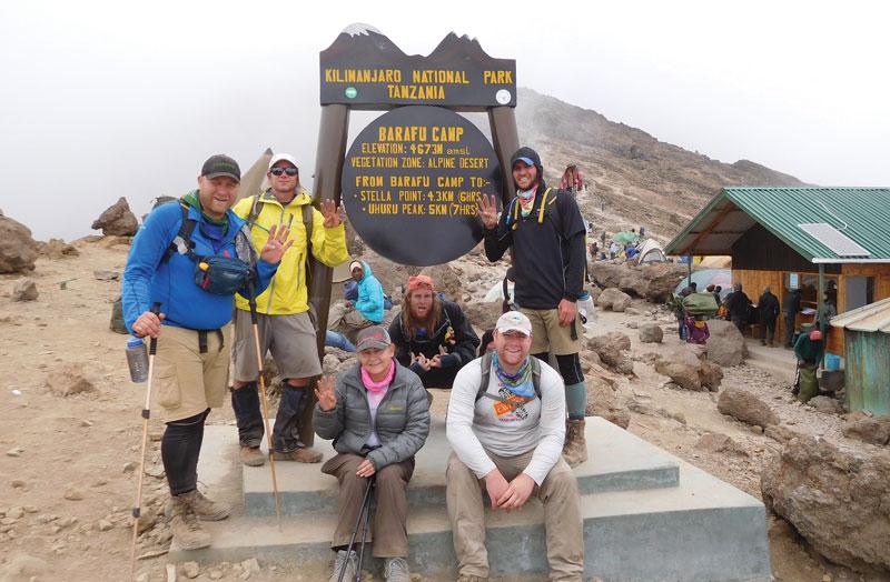 Mt. Kilimanjaro, Africa (2003)
