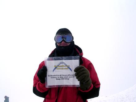 Mt. Elbrus, Europe (2003)