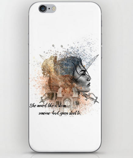 Rebel of the Sands Phone Skin