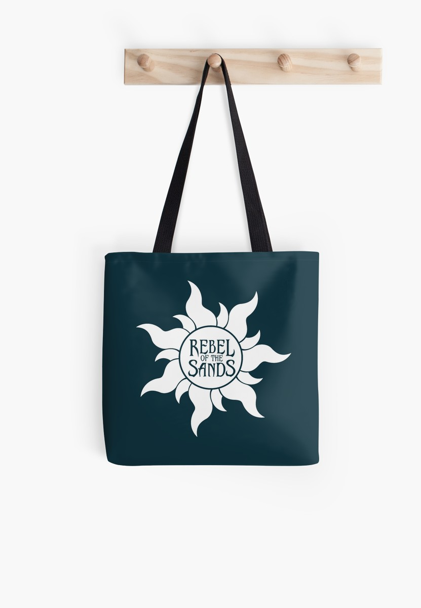 Rebel of the Sands Tote Bag