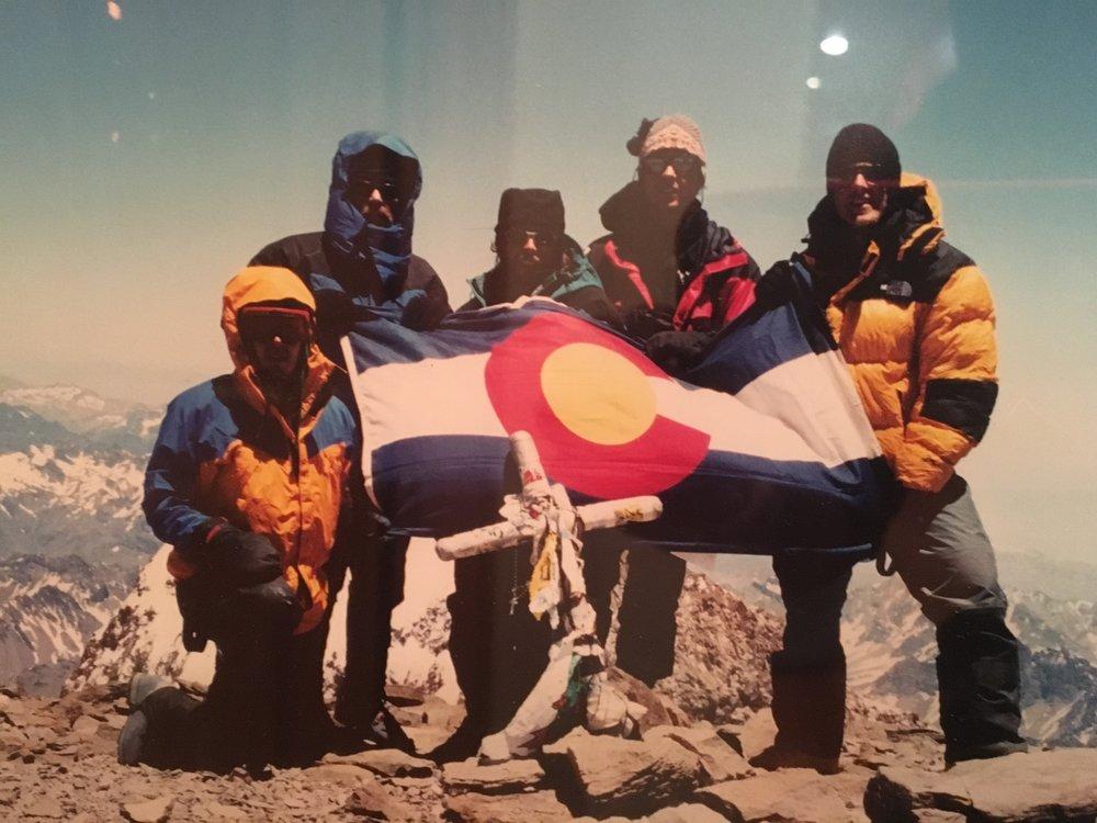 Summit of Cerro Aconcagua 22,834 feet!