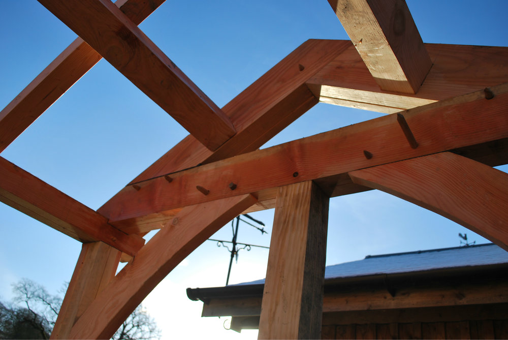 Larch Frame, garden office