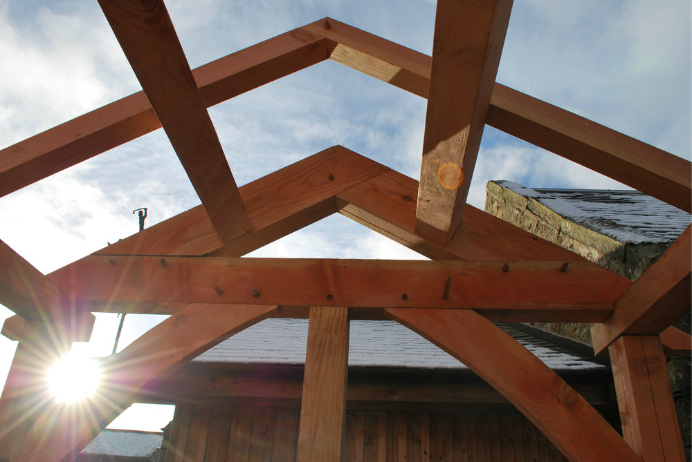 Douglas Fir Truss