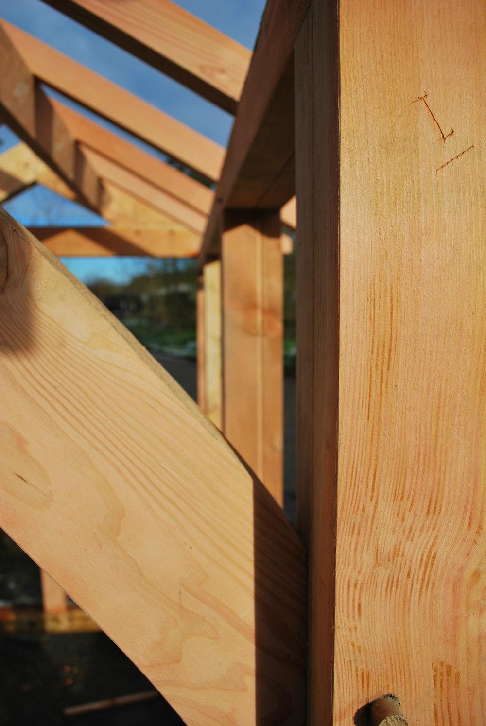 Timber Fraiming wood