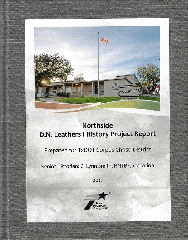 One of four books prepared for TxDOT's Corpus Christi District for the US 181 Harbor Bridge Northside History Project in Corpus Christi, Texas. The project also included ten storyboard banners and presentations.
