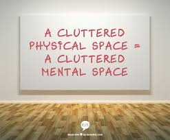 cluttered space