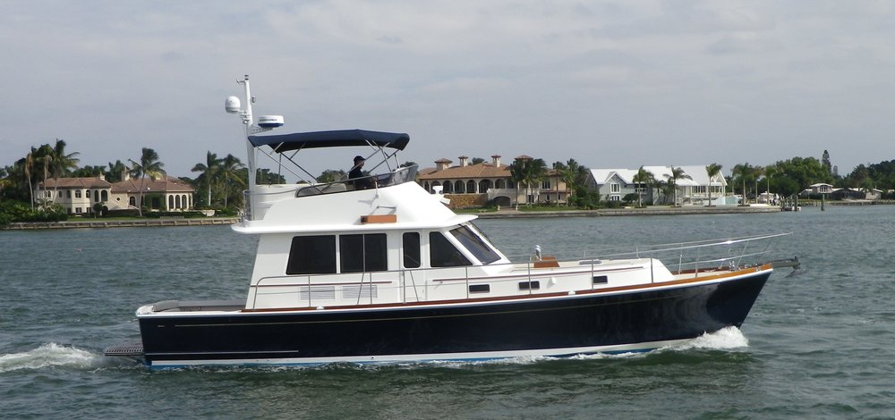2005 model Eastbay 47 Flybridge - LITTLE CAT