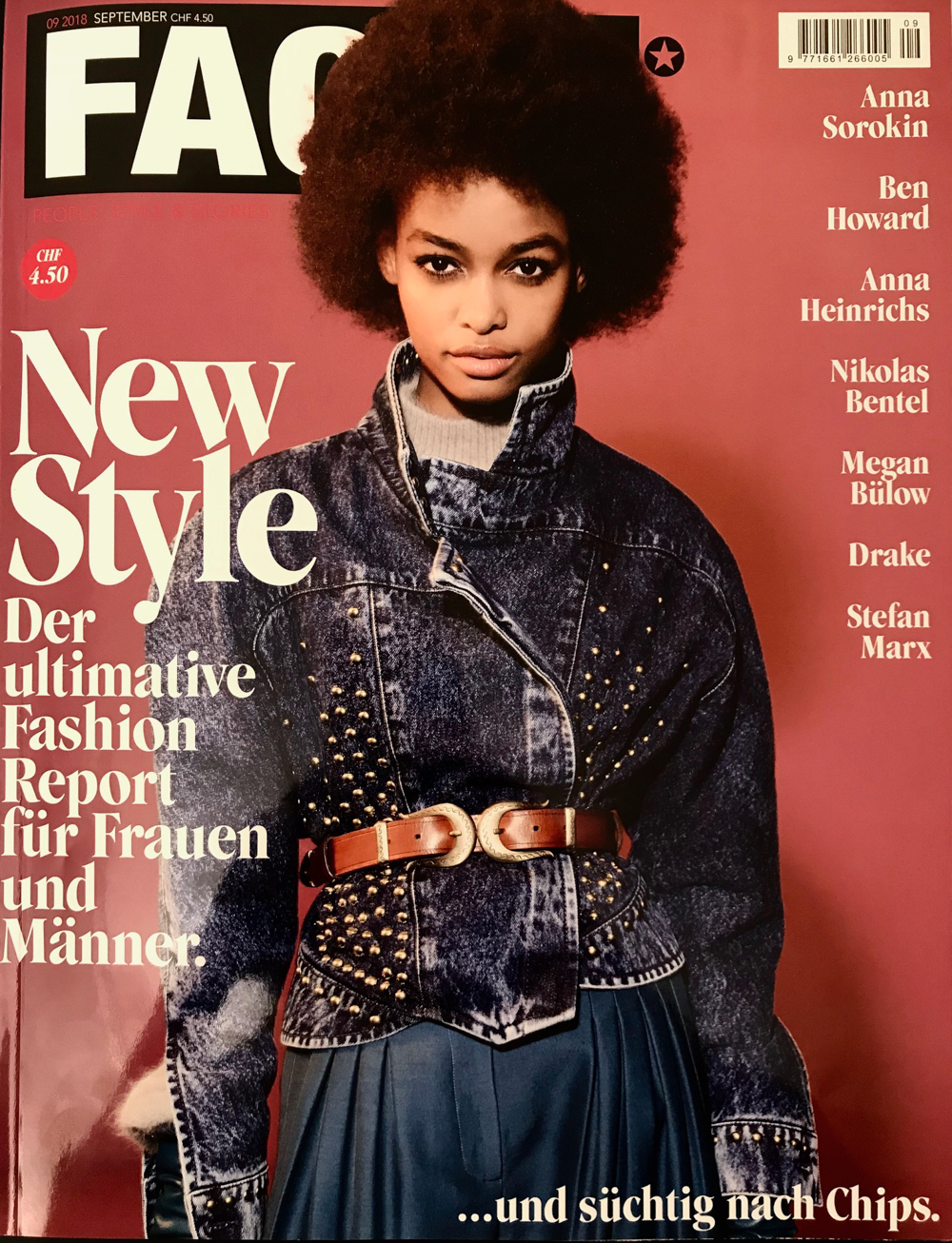 FACES MAGAZIN SEPTEMBER 2018