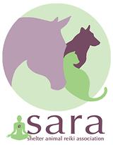 SARA (Shelter Animal Reiki Association) logo