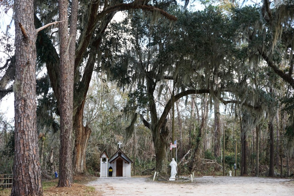 The Smallest Church in America ~  Darien, Georgia