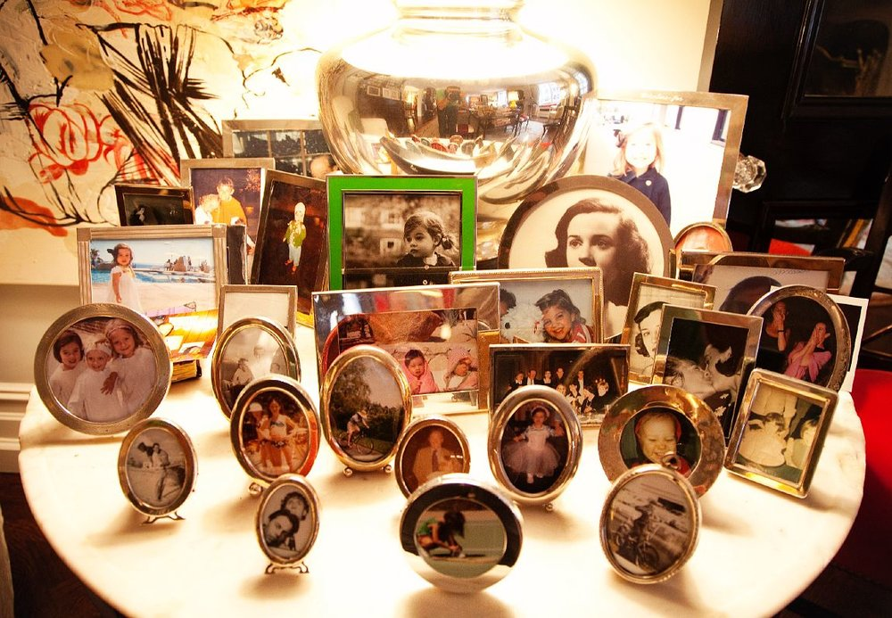 In a video with People magazine Kate said this was her favorite table in her house because it has all of her family on it. Photos from The Selby