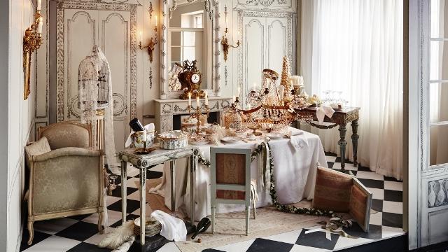 Royal Copenhagen Christmas Tables table setting