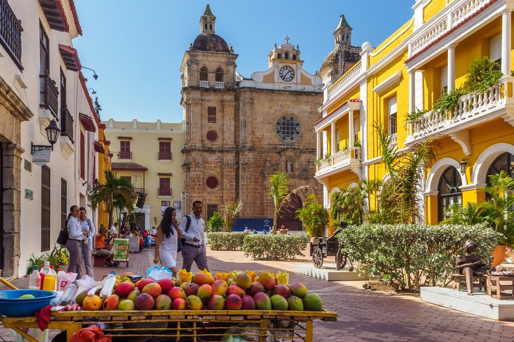 Colourful Streets of Cartagena