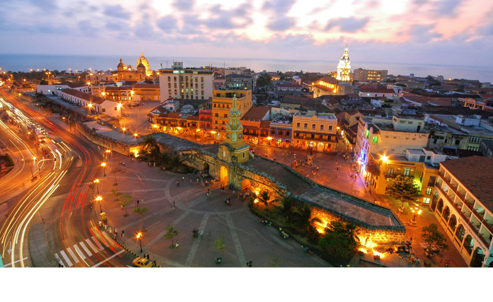 Cartagena at Night. Photo credit: mustseeplaces.eu
