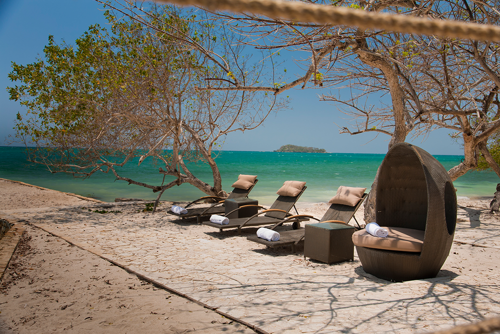 Private Island Beach within 1 hour of Cartagena