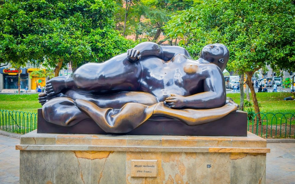 Botero Sculpture. Photo credit: AP/Fotolia