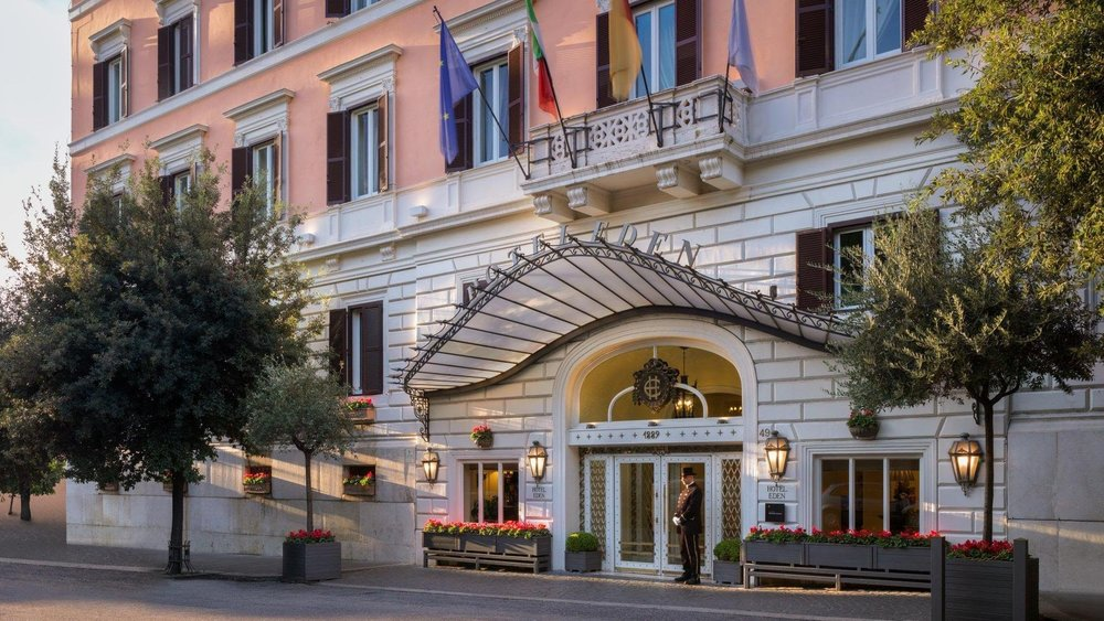 Hotel Eden Rome, Part of Dorchester Collection  Photo Credit: Hotels & Travel