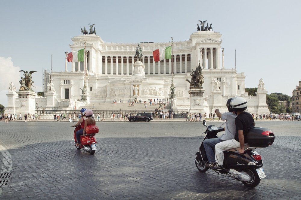 Vespa Tour Rome  Photo Credit: Washington Post