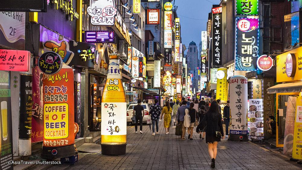 Seoul Nightlife  Photo Credit: Shutterstock