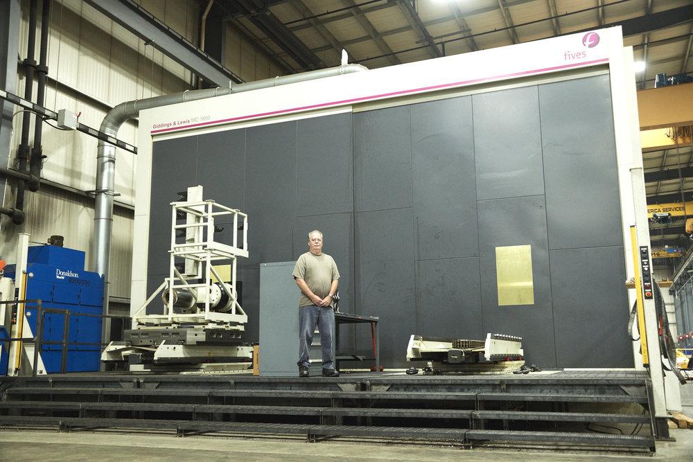 Major Tool Machine MC1600 Boring Mill