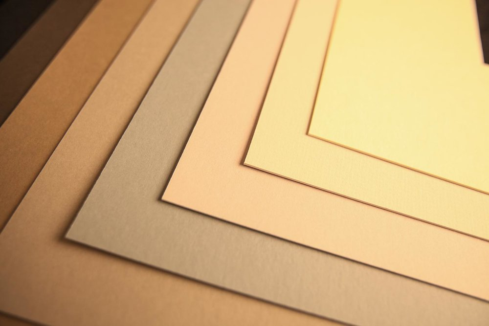 Specialty Solids - CREAM CORE • WHITE CORE • BLACK CORE