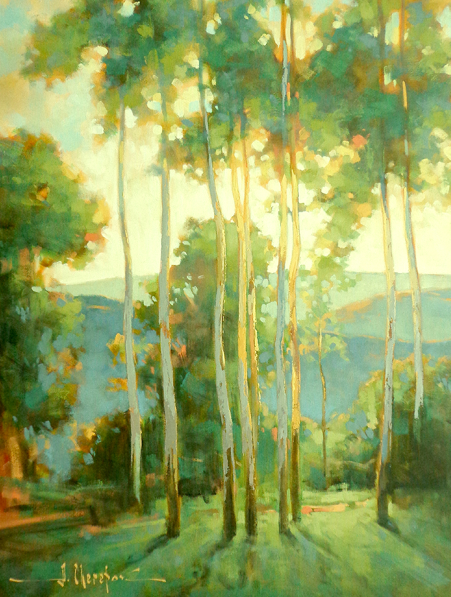 Sunset in the Blue Mountains 30x40