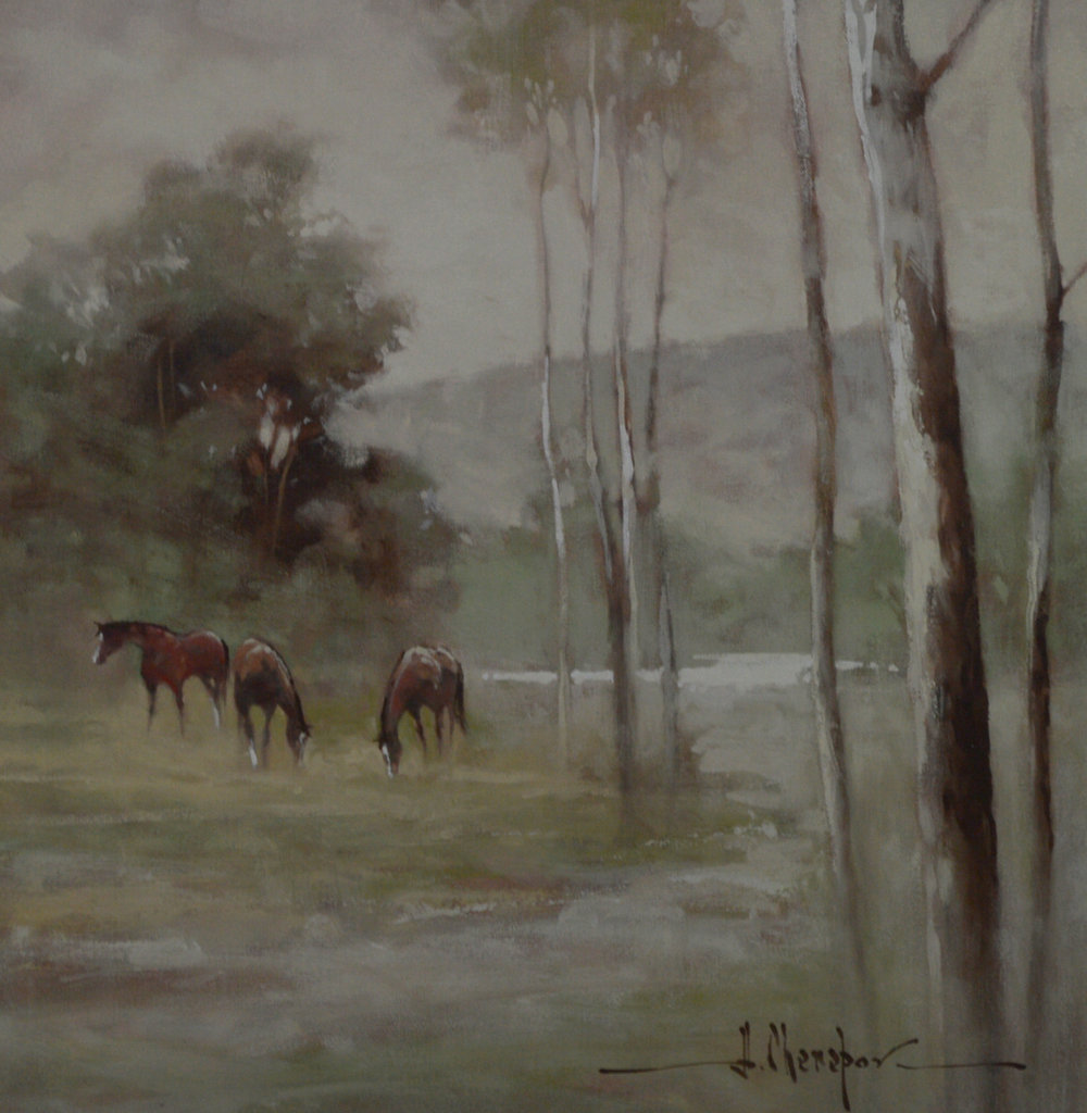 Cherepov|Horses on the Left