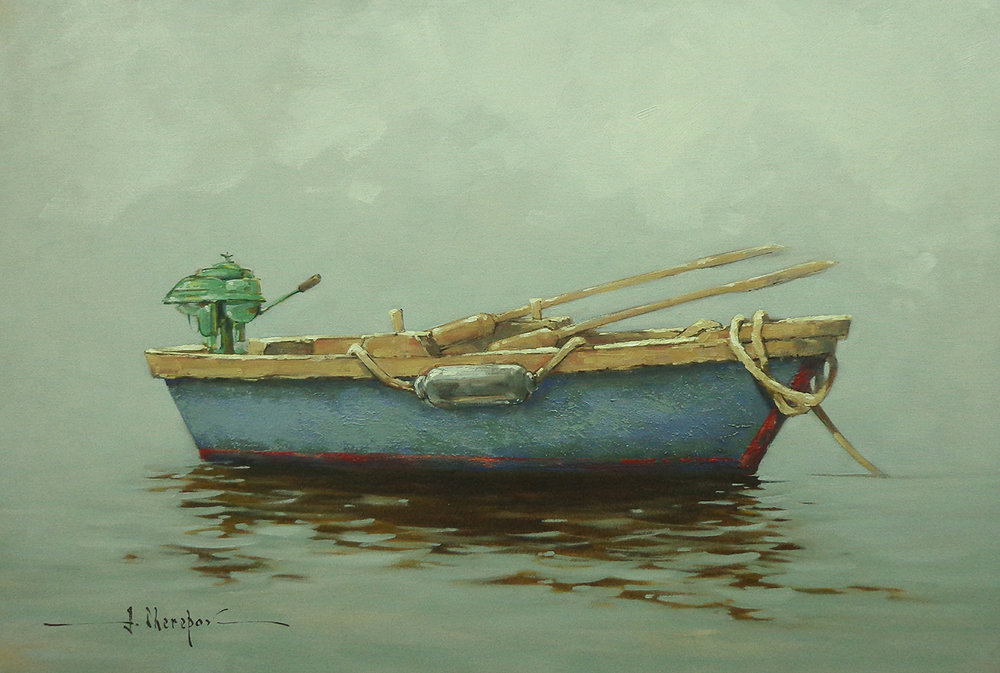 Blue Boat 30x40