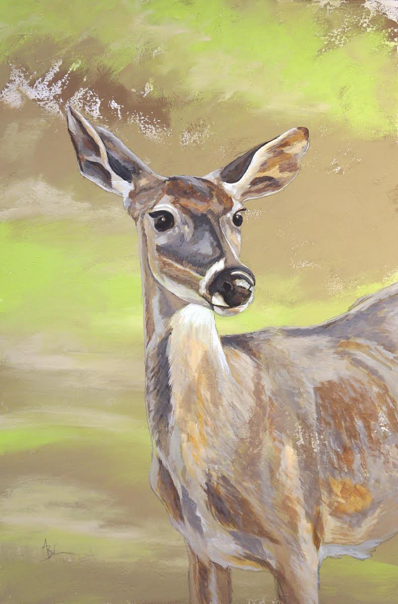 Dear, Deer 24x36
