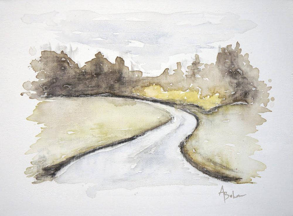 Winding Road 8x10
