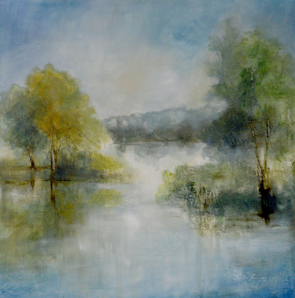 Shimmer on the Lake 60x60