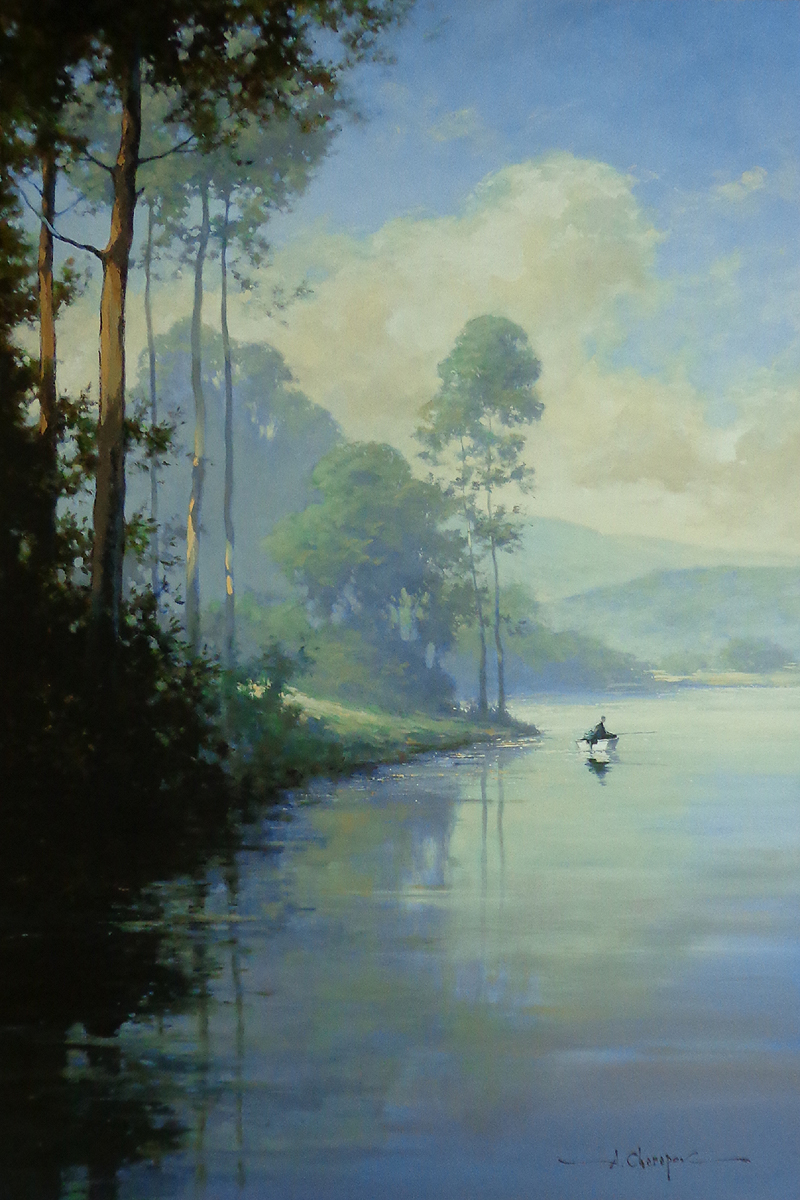 Gone Fishing 48x72