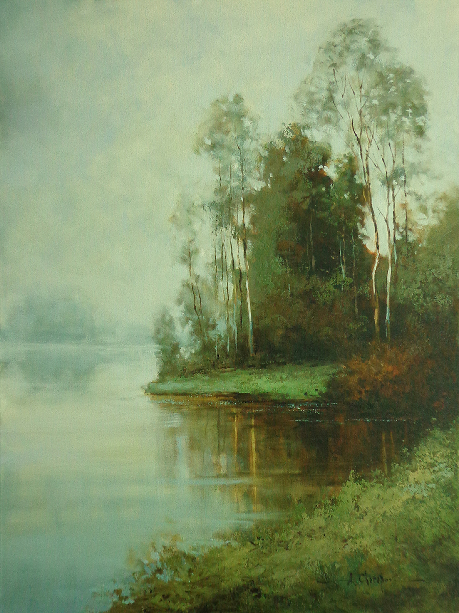 Russian Lake II 24x36