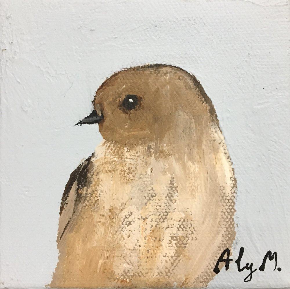 Little Warbler II|5x5