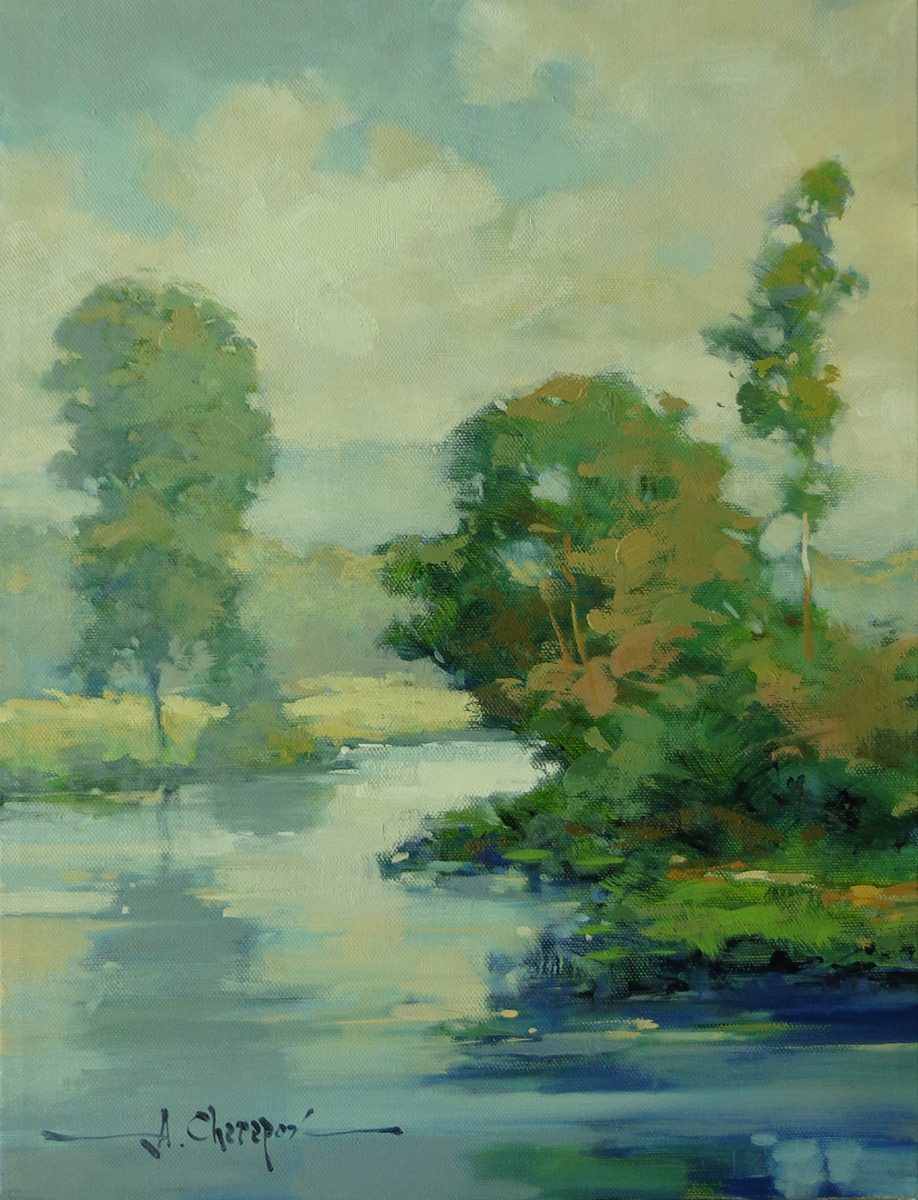 Blue River Right Bank|12x16