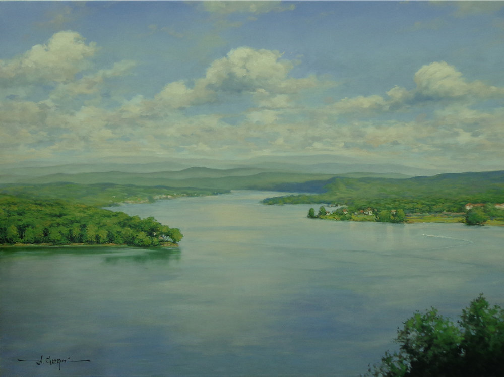 Tennessee River|36x48