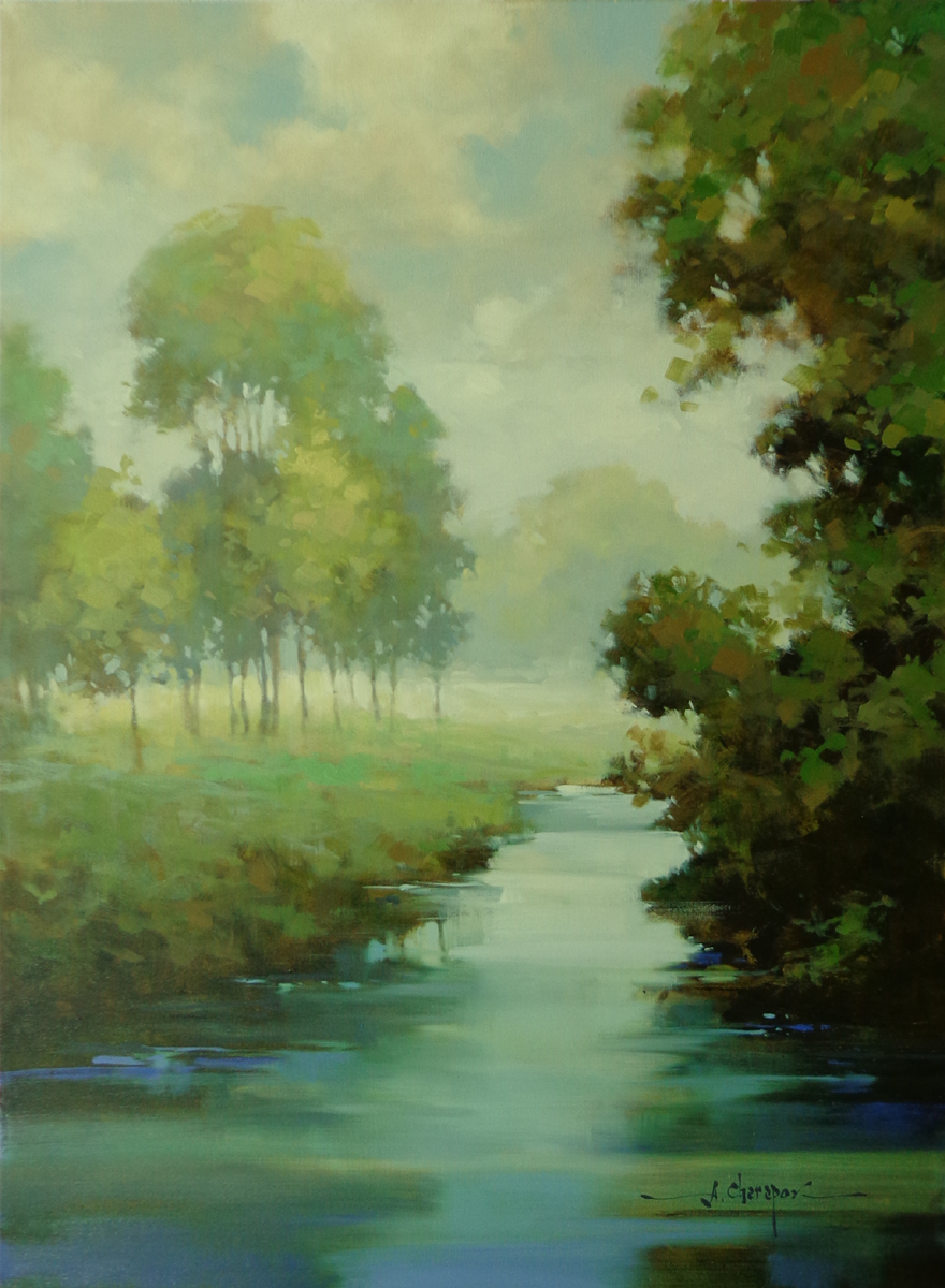 Blue River|30x40