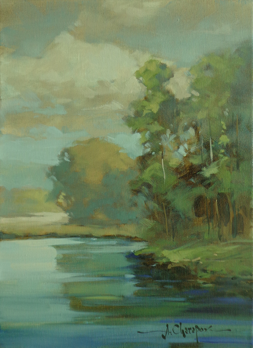 Bend of the River II|12x16
