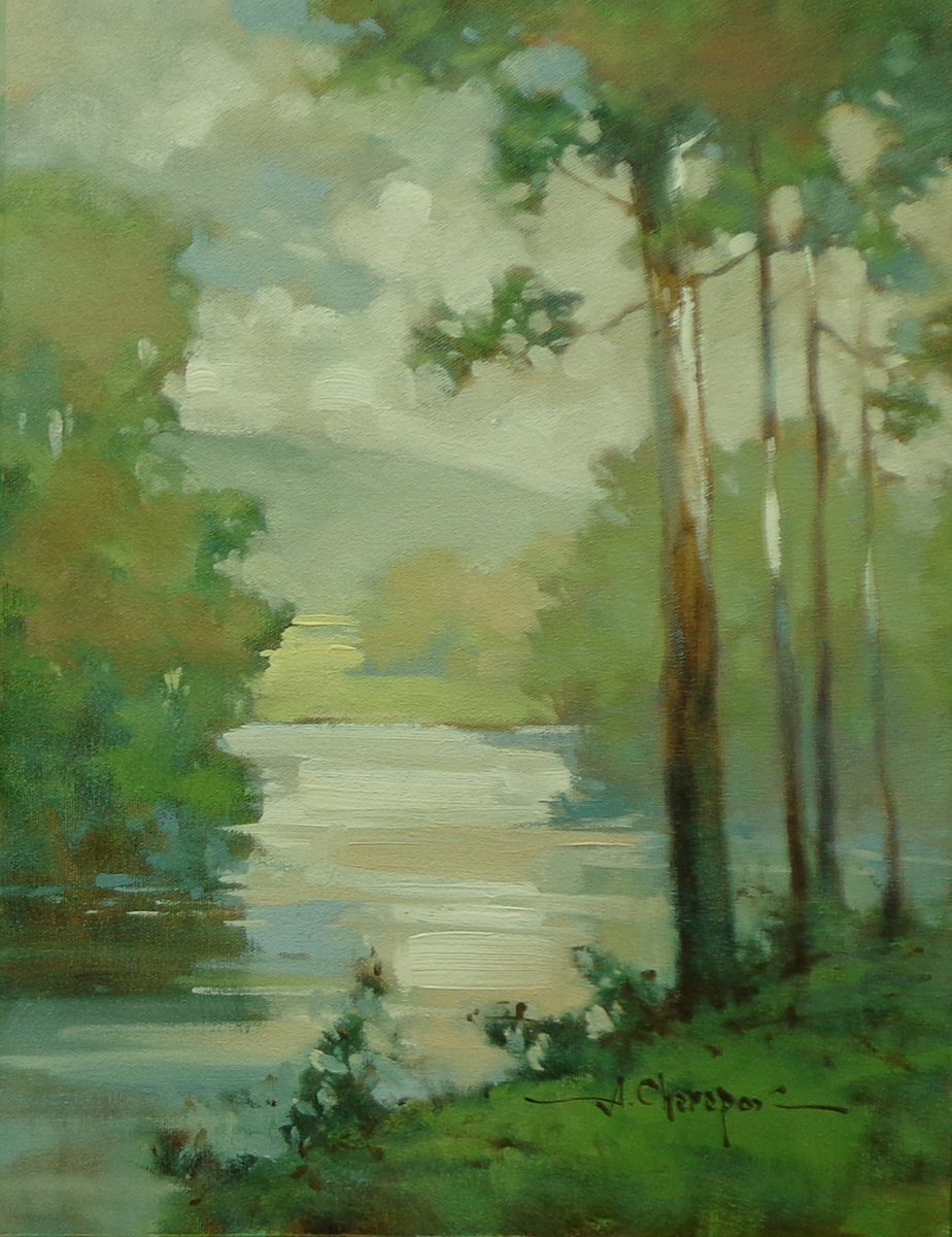 By the Blue River II|12x16