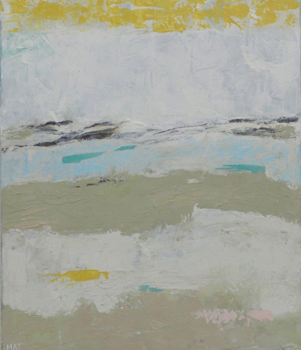 Sifting Sand I|20x24
