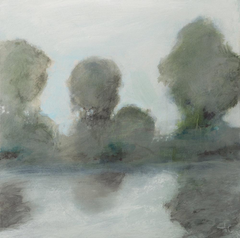 Light Through the Trees I|20x20